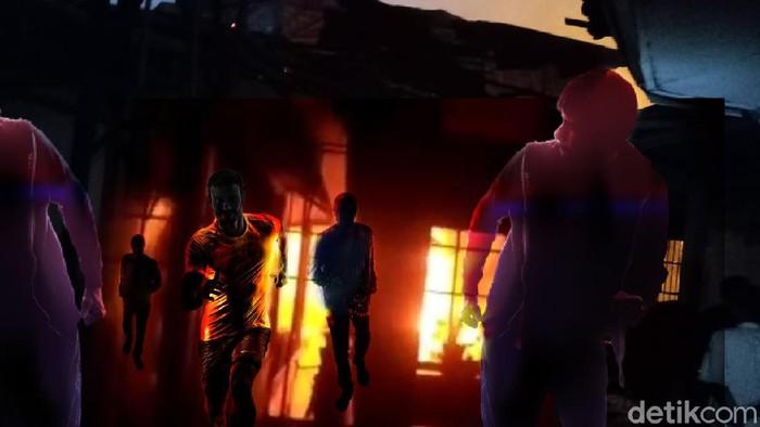 Ilustrasi Kebakaran Lapas