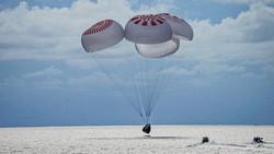 Detik-detik 4 Astronaut Amatir SpaceX Selamat Balik ke Bumi