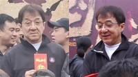 Viral Penampilan Jackie Chan Menua, Nyaris Tak Bisa Jalan