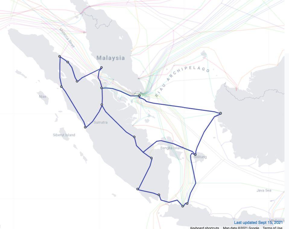 Kabel Bawah Laut Telkom Jasuka