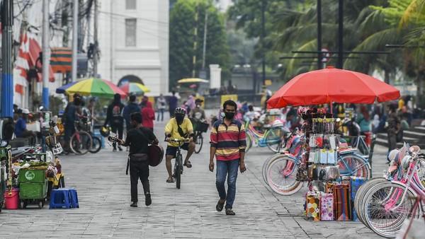 Kota Tua Jakarta yang terletak di Kelurahan Pinangsia Kecamatan Tamansari Kotamadya Jakarta Barat.