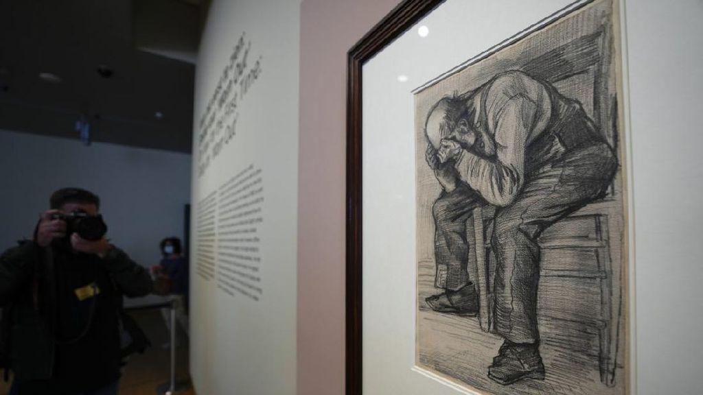 Terungkap! Lukisan Pensil Pria Tua Diidentifikasi Sebagai Karya Vincent van Gogh