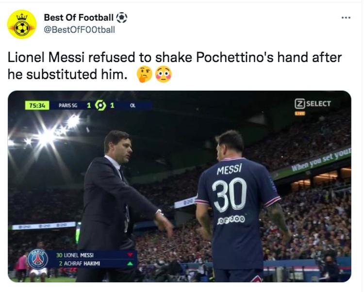 Meme gol Messi