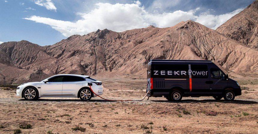 Mobile Charger untuk mobil listrik