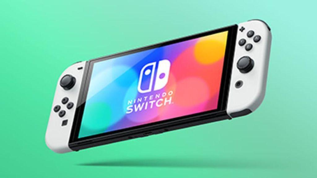 Wujud Asli Nintendo Switch OLED Muncul di Publik, Langsung Heboh
