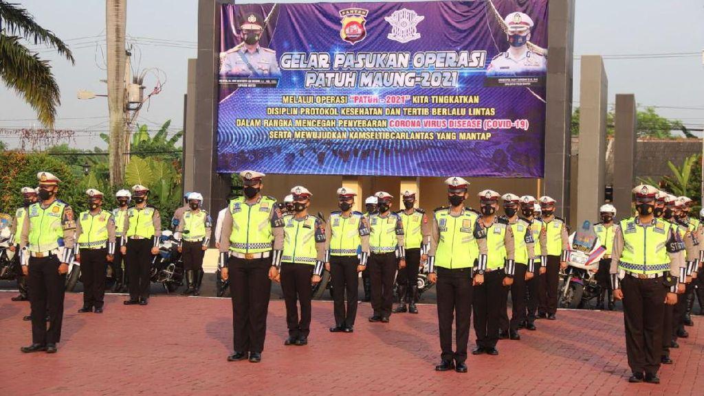 Operasi Patuh Maung Banten Sasar Pengendara Langgar Prokes-Kerumunan