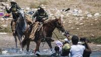 Bikin Geger, AS Setop Pakai Kuda untuk Halau Migran Haiti
