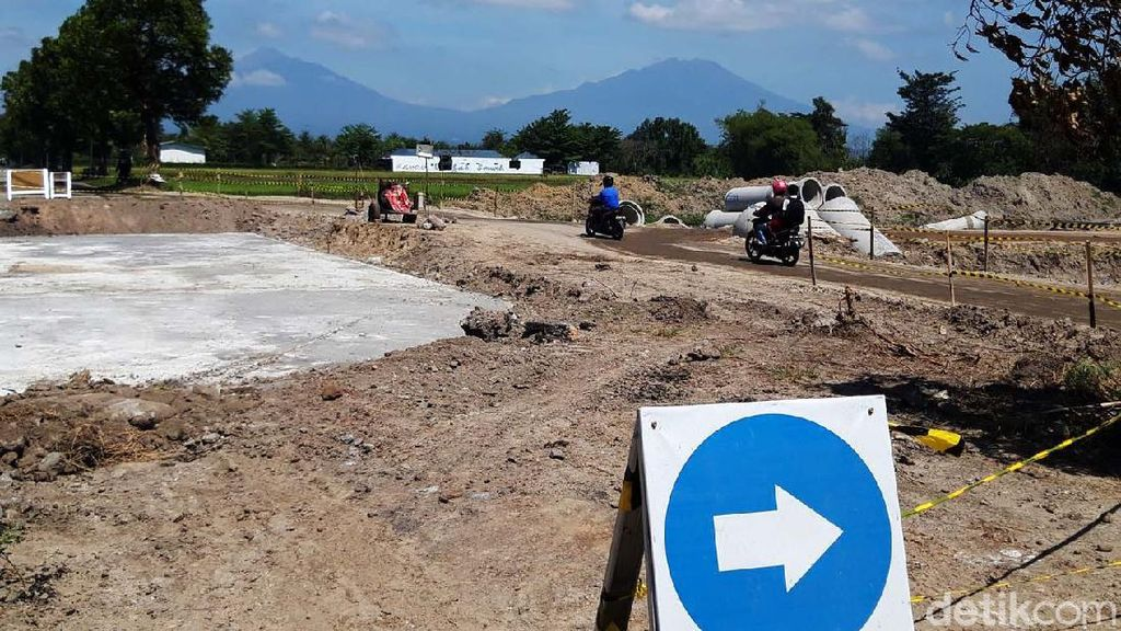 Melihat Progres Pembangunan Tol Yogya-Solo di Boyolali