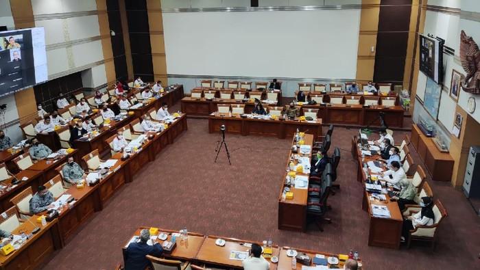 Rapat Dengar Pendapat Kabakamla RI dengan Komisi I DPR RI di Gedung DPR, Senayan, Jakpus