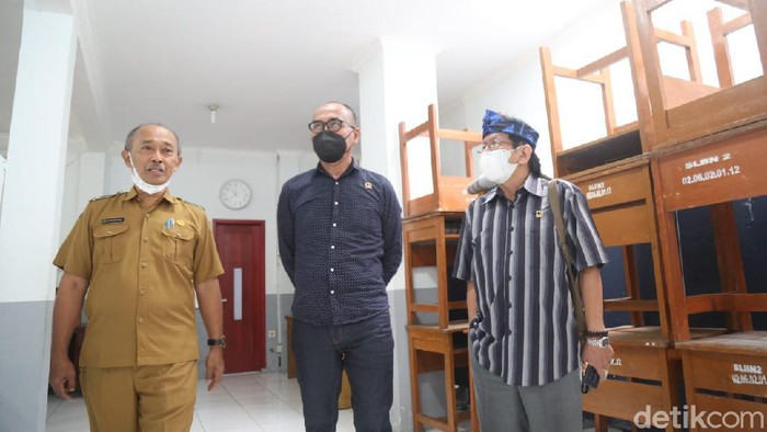 Ruang UKS di SLBN Cimahi dijadikan ruang kelas karena minim fasilitas