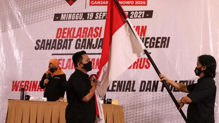 Setelah deklarasikan di seluruh wilayah Indonesia, Sahabat Ganjar Luar Negeri dideklarasikan. Mereka mendukung Ganjar Pranowo maju pada Pilpres 2024 mendatang.
