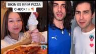 Sisca Kohl Bikin Es Krim dari Pizza, Bule Italia Ini Kaget dan Heran
