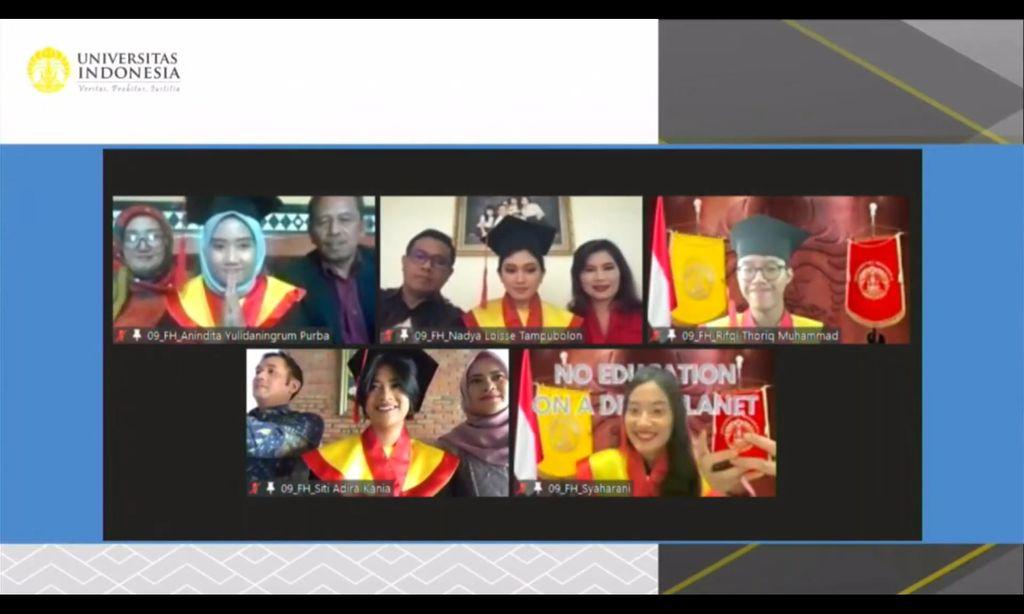 Siti Adira Kania, Putri Ikke Nurjanah menjadi Wisudawan Terbaik FHUI dari 5 besar wisudawan terbaik FHUI pada Wisuda UI Program Sarjana dan Vokasi semester genap 2021.