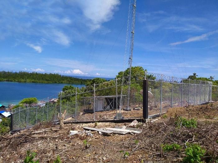 XL Axiata mengoperasikan jaringan 4G di Maluku dan Papua menggunakan BTS USO hasil kerja sama dengan Bakti Kominfo.