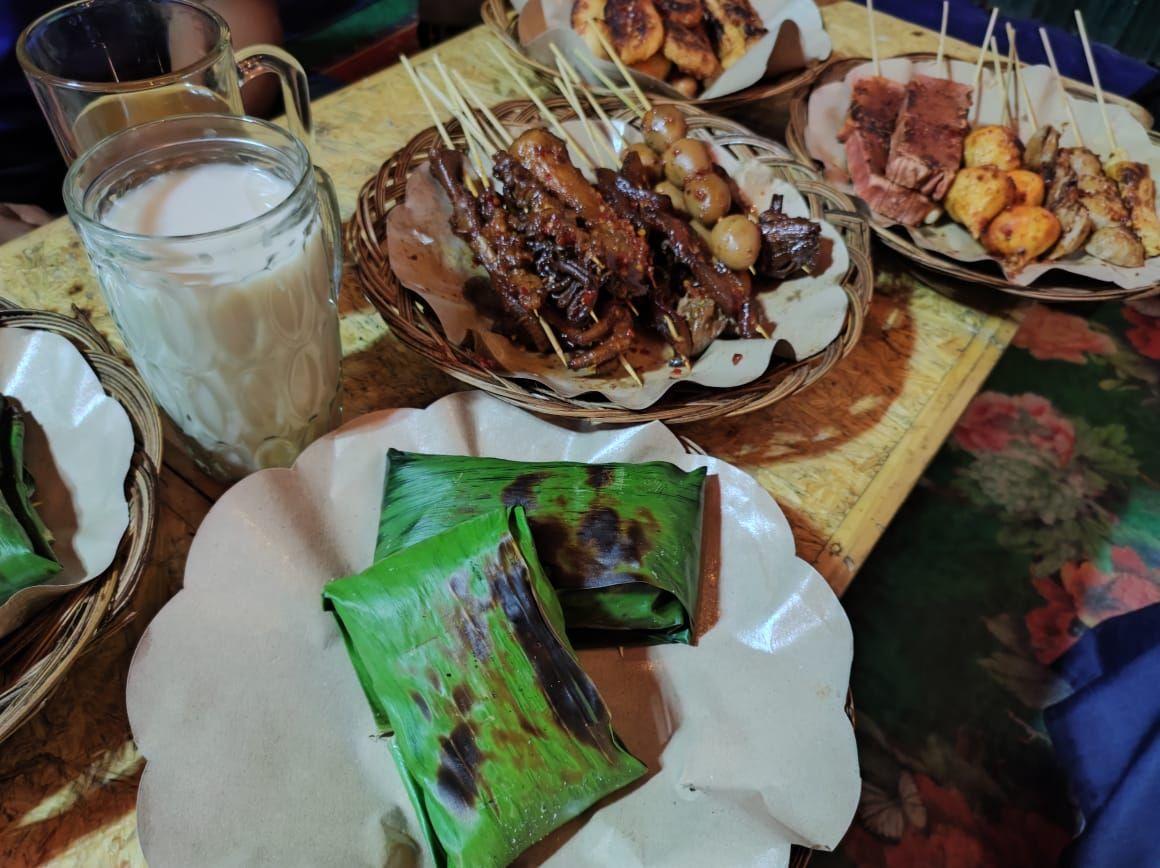 Angkringan Nasi Kucing di Jakarta Selatan