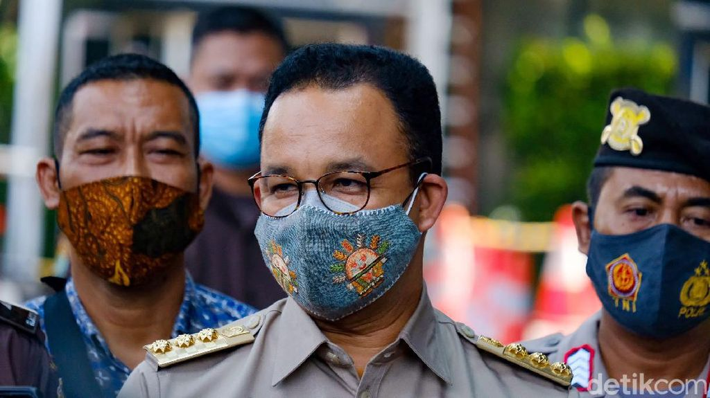 Data Menurunnya Corona Jakarta yang Disebut Anies Berkat Avengers