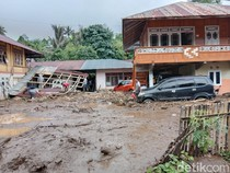 Potret Permukiman di Minahasa Tenggara Usai Diterjang Banjir Bandang