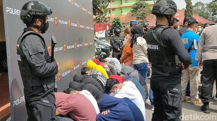 Belasan bocah di Garut diamankan polisi