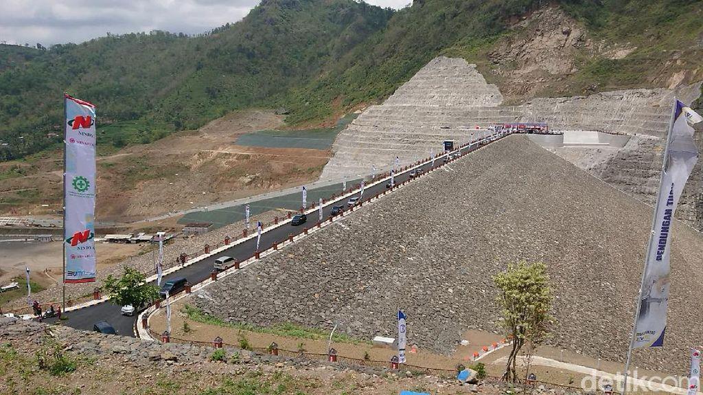 Bendungan Tugu Trenggalek yang Telan Anggaran Rp 1,8 T Mulai Diisi Air