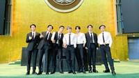 BTS Pidato Sebagai Utusan Presiden Korsel di PBB, Ditonton Hampir 1 Juta Orang