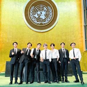 Penampilan BTS di UNGA PBB Jadi Sorotan, Pakai Setelan Ramah Lingkungan