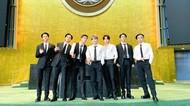 Potret BTS Hadiri UNGA ke-76 Sebagai Utusan Khusus Presiden