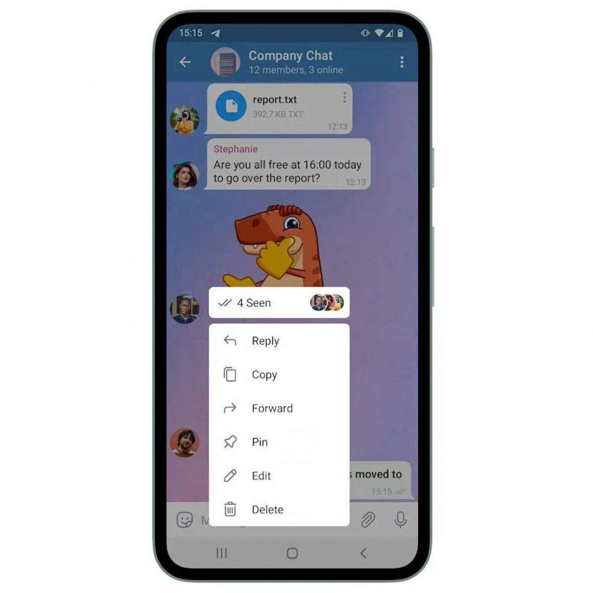 Fitur baru di Telegram