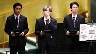 Aksi BTS Pidato Soal Vaksin di Markas PBB