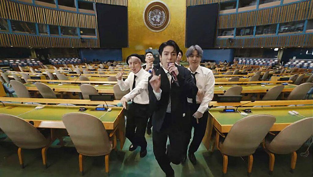 Gaya BTS Pidato di Markas PBB