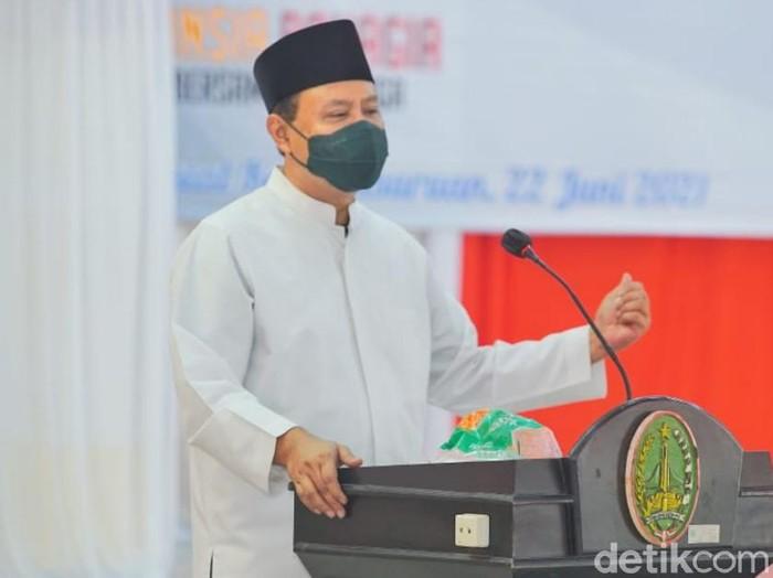 Wali Kota Pasuruan Saifullah Yusuf (Gus Ipul) mengatakan daerahnya masuk PPKM level I. Ia mengajak seluruh warga tetap taat dan tertib dalam menerapkan protokol kesehatan.