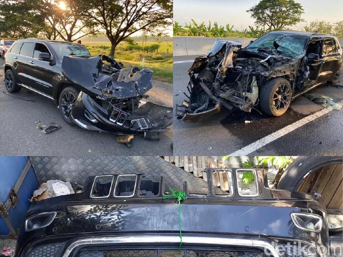 Hasil Investigasi Mobil Jeep Bos Garansindo yang Ringsek tapi Airbag Tak Keluar