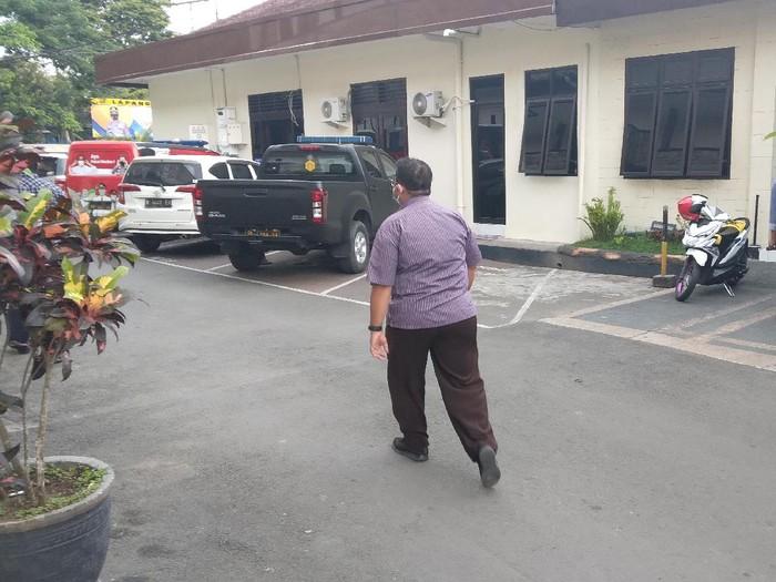 Kadishub Kota Malang, Heru Mulyono diperiksa polres malang
