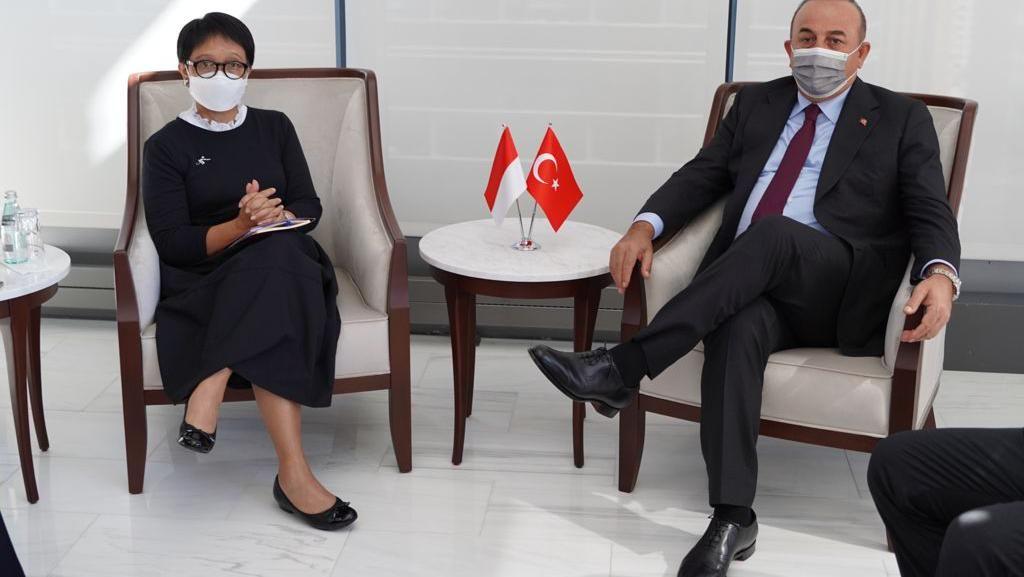 Kemlu Dapat Dukungan Turki soal Afghanistan