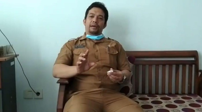 Kepala Seksi DPMD Kabupaten Bandung Barat Yana Dessiana