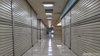 Hiii... Bak Kota Mati, Kios ITC Kuningan Pada Tutup Ditinggal Penyewa