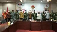 KPK Bertemu Puspom TNI, Bahas Kerja Sama Penyidikan Kasus Korupsi