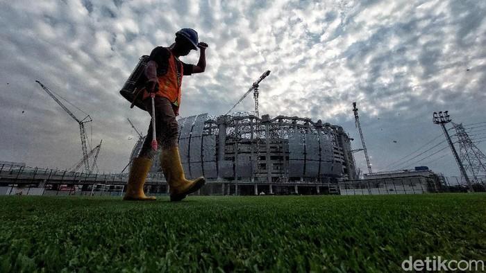Pembangunan Jakarta International Stadium (JIS) terus dikebut. Berdasarkan instruksi Anies, JIS akan diresmikan pada Desember 2021, kini bagaimana progres pembangunannya?