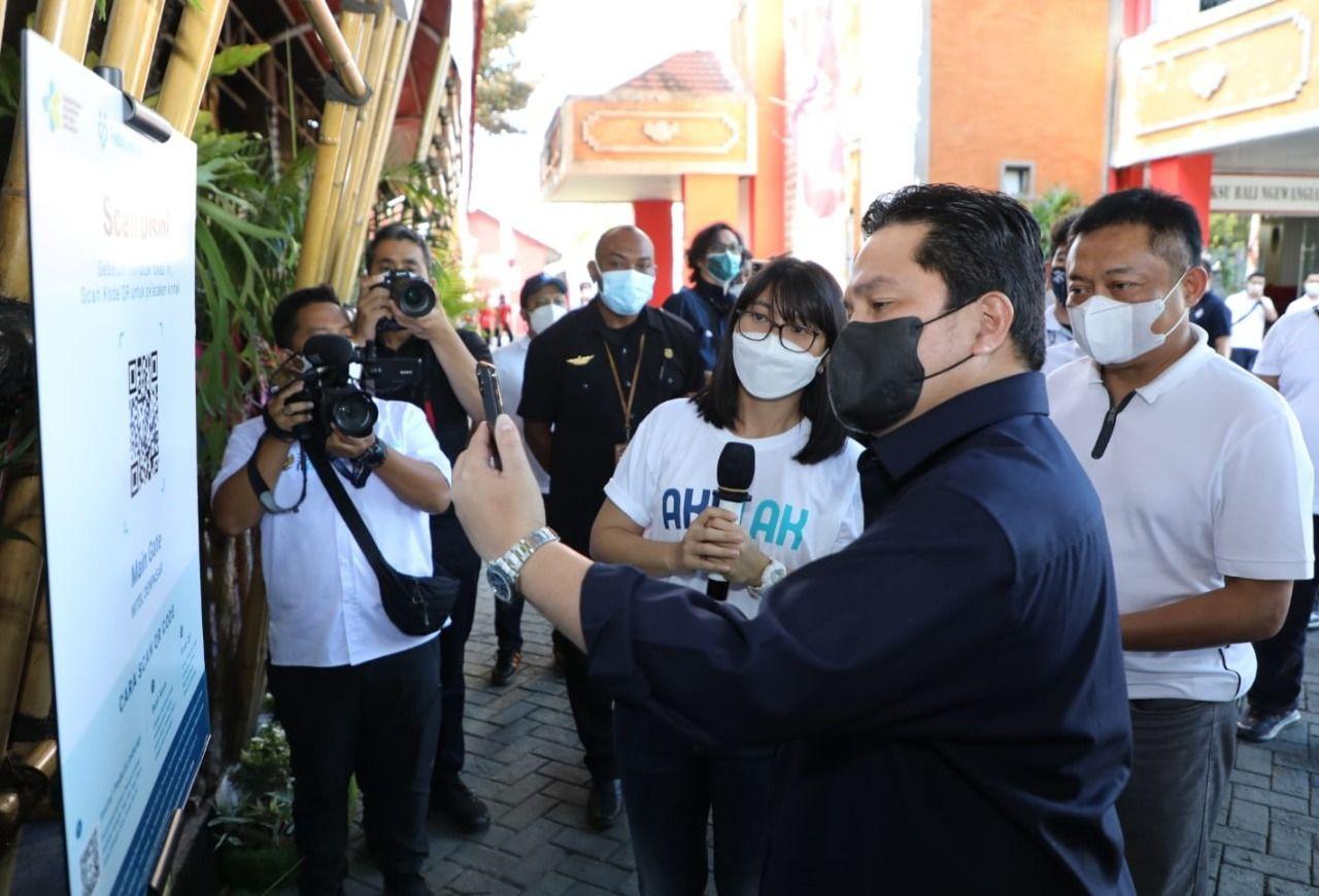 Menteri BUMN Erick Thohir (ist)