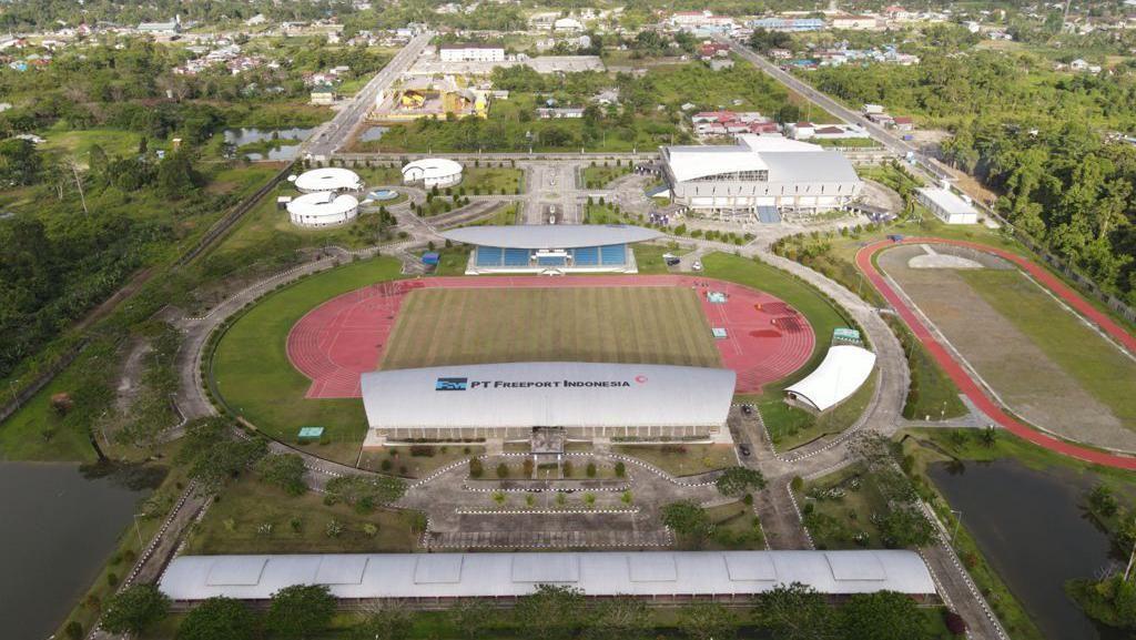 Mimika Sports Complex yang Dibangun Freeport untuk Dukung PON Papua