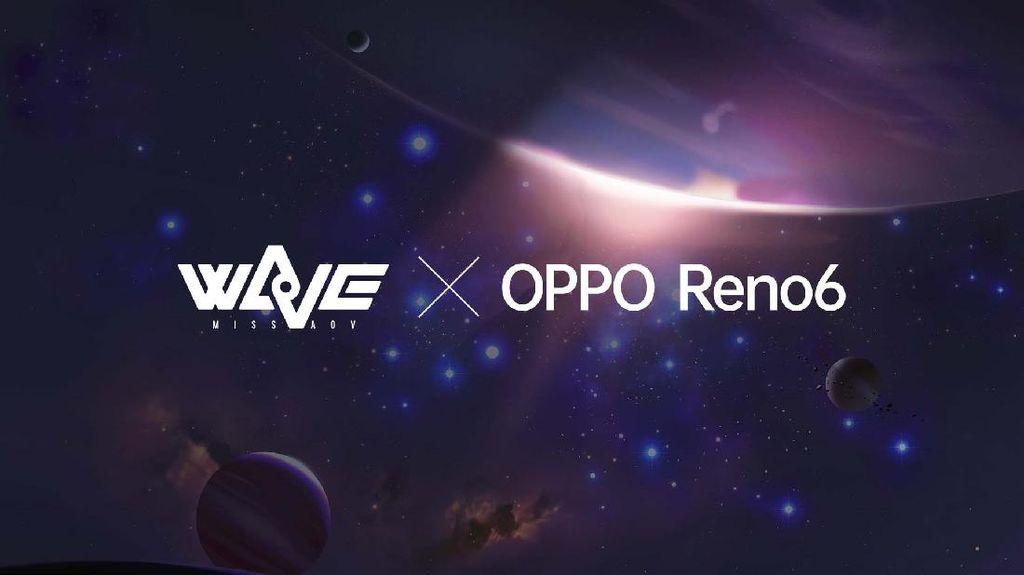 Eksplorasi Kemampuan Gaming, OPPO Reno6 Gandeng Idol Group AOV Wave