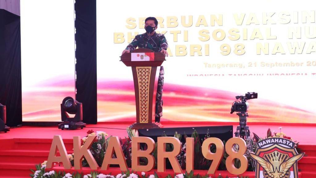 Kasus COVID-19 Turun, Panglima TNI: Bisa Jadi Buruk Apabila Kita Lengah