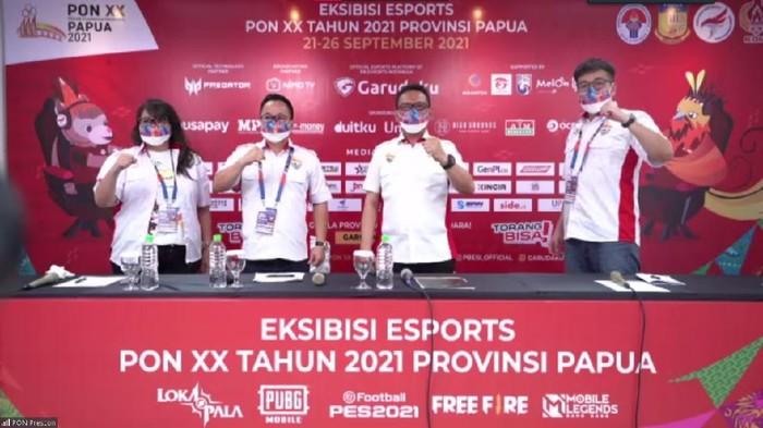 Pembukaan Eksibisi Esports PON XX Papua 2021 Dimulai Hari Ini