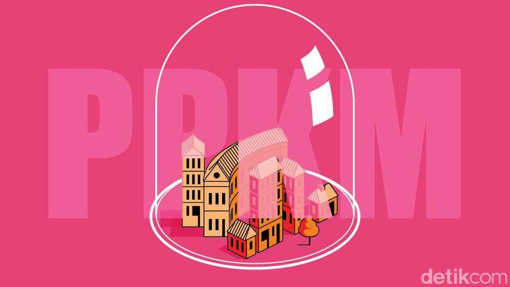 Perpanjangan PPKM Level 4 Hanya di 10 Wilayah Ini, Berikut Daftarnya