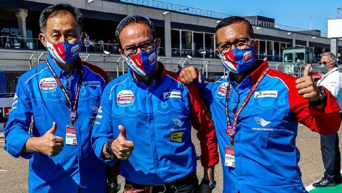 Tim Pertamina Mandalika SAG belum meraih podium di Moto2 2021. Pada 4 balapan yang tersisa di musim ini, mereka masih berupaya untuk finis 3 besar.