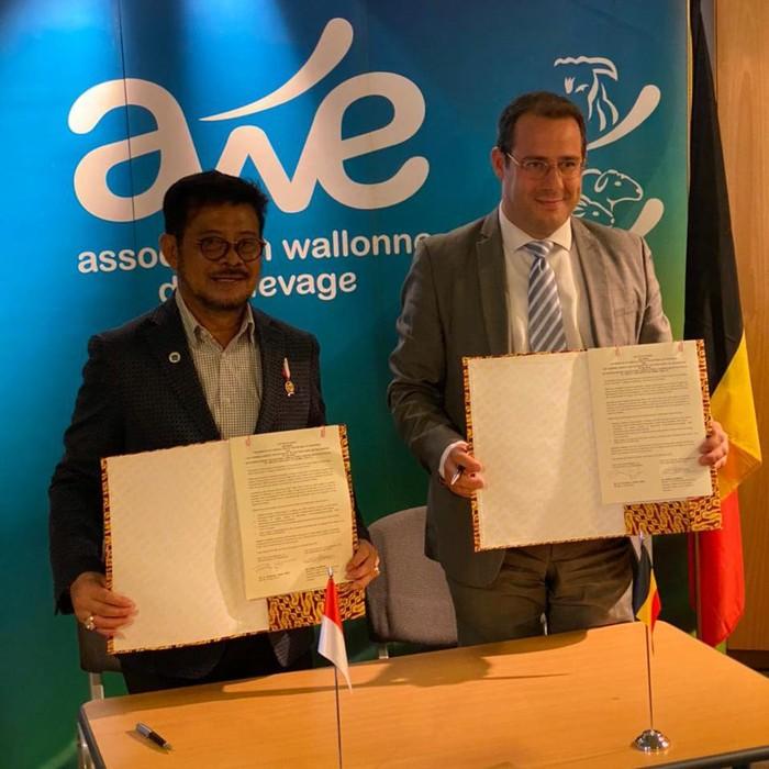 RI dan Belgia Kerja Sama