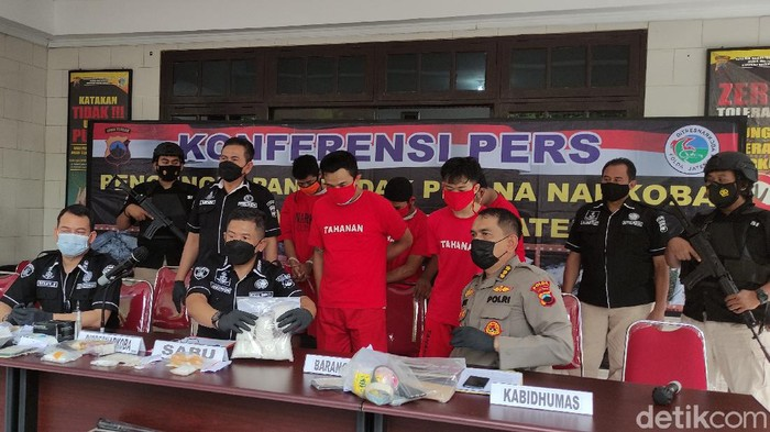 Rilis kasus Polda Jateng amankan 900 kg sabu siap edar, 21/9/2021