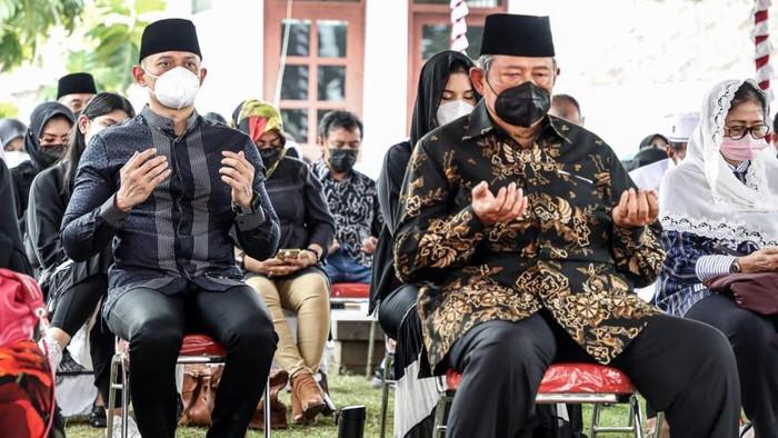 SBY dan AHY (Dok. Demokrat).