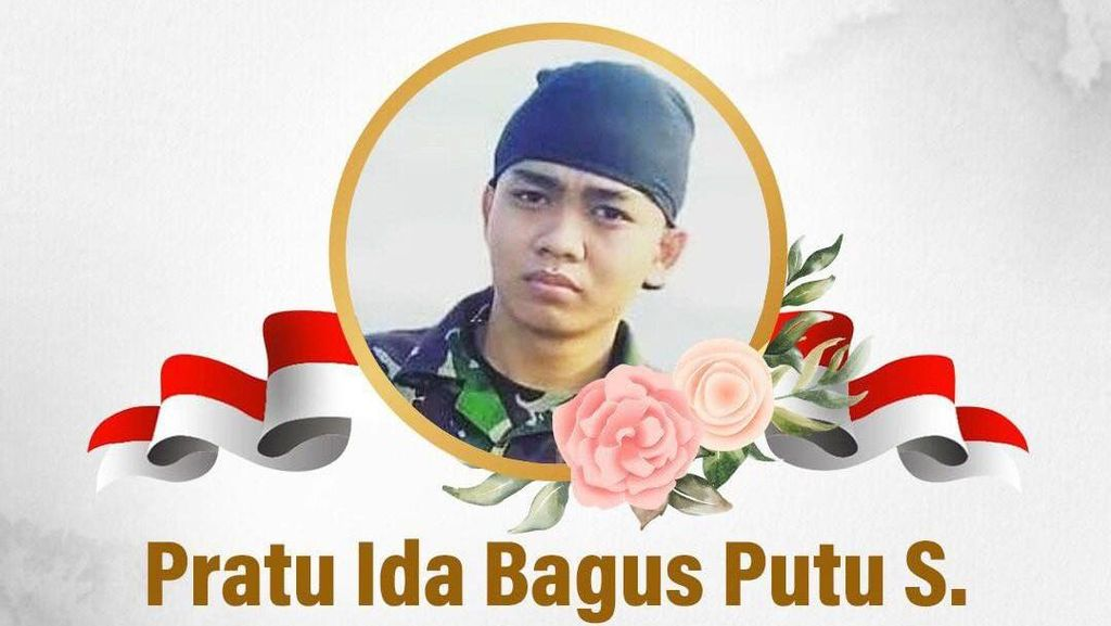Sosok Pratu Ida Bagus Putu, Prajurit TNI yang Gugur Ditembak KKB