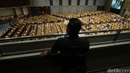 Sunyi Sepi Rapat Paripurna DPR di Masa Pandemi
