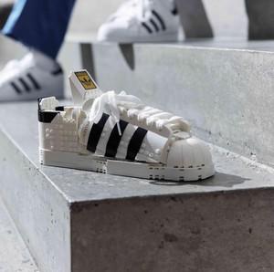 Saat Sneakers Ikonis Adidas Menjelma Jadi Mainan Lego